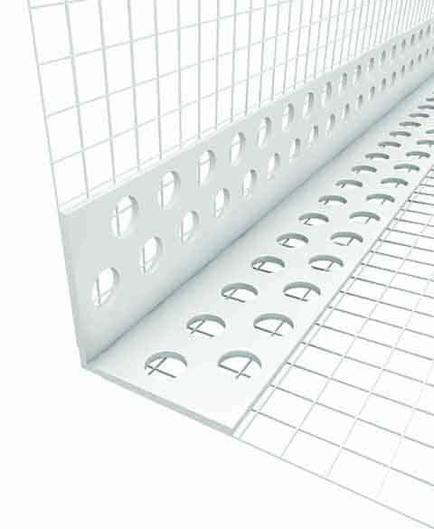 Γωνιόκρανα PVC για εξωτερική θερμομόνωση