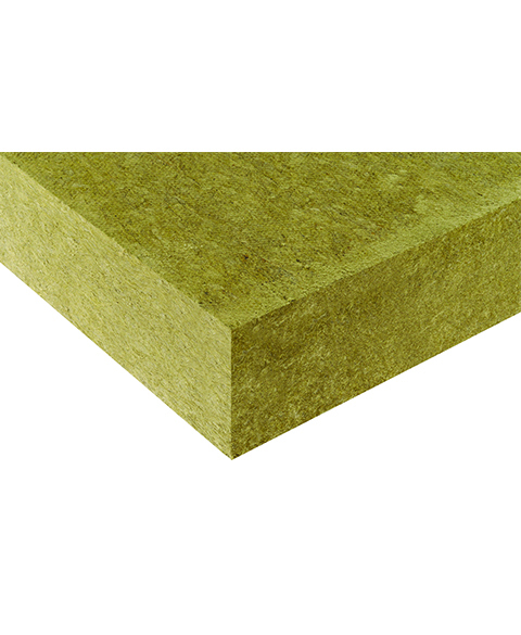 Insulating panels made of mineral wool